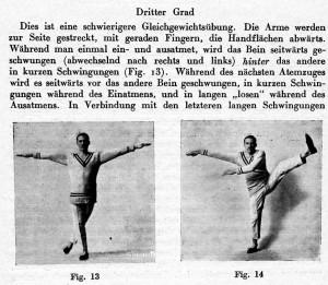 Übungsanleitung aus dem Wilhelminischen Deutschland (1894)