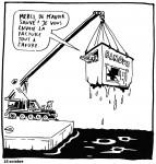 Bankenrettung: der Blick des Karikaturisten